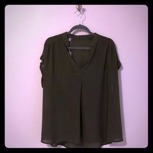 Evergreen Rayon Blouse New w/tags